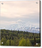 Denali Produces Its Own Weather Acrylic Print
