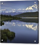 Denali Wonder Lake Acrylic Print