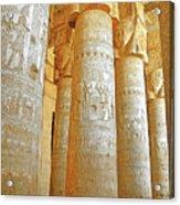 Dendera Temple Acrylic Print