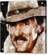 Dennis Weaver, Actor Acrylic Print