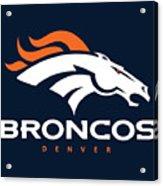 Denver Broncos Nfl Acrylic Print