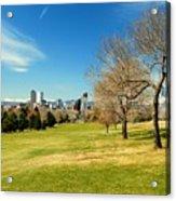 Denver City Park Acrylic Print