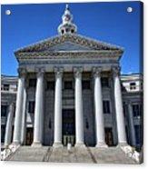 Denver, Colorado Courthouse Acrylic Print