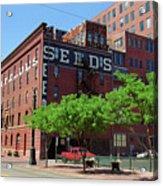 Denver Downtown Warehouse Acrylic Print