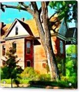 The Denver House Acrylic Print