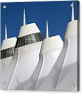 Denver International Airport Dia Colorado Acrylic Print by Brendan Reals