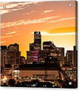 Denver Sunrise Iv Acrylic Print