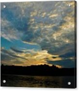 Departing Clouds Acrylic Print
