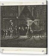 Departure Of Alva From Amsterdam, 1573, Barent De Bakker Attributed To, After Hermanus Petrus Scho Acrylic Print