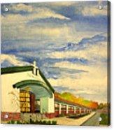 Depaul Catholic Acrylic Print