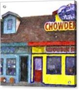 Depoe Bay Oregon - Chowder Bowl Acrylic Print