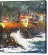 Depoe Bay Oregon Acrylic Print