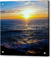 Depoe Bay Sunset Acrylic Print