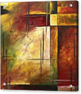 Depth Of Emotion II By Madart Acrylic Print