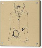 Der Erwerbslose (the Unemployed Man) Acrylic Print