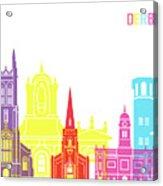 Derby Skyline Pop Acrylic Print