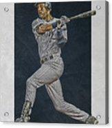 Derek Jeter New York Yankees Art 2 Acrylic Print