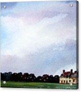 Derelict Farmhouse Near Malton Acrylic Print