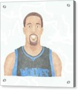 Derrick Williams Acrylic Print