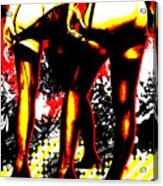 Derriere Acrylic Print