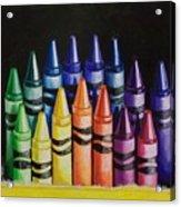 Des Colores Acrylic Print