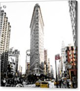 Desaturated New York Acrylic Print