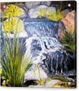 Descanso Waterfall Acrylic Print