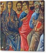 Descent Of The Holy Spirit Upon The Apostles Fragment 1311 Acrylic Print