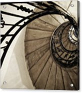 Descent - St Stephens - Budapest  Acrylic Print