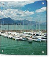 Desenzano Del Garda Lighthouse Italy Acrylic Print