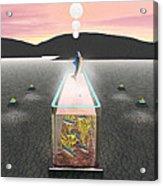 Desert Aquarium Acrylic Print