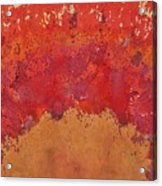 Desert Arch Original Painting Acrylic Print