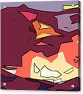 Desert Aspect Panel One Of Three Acrylic Print