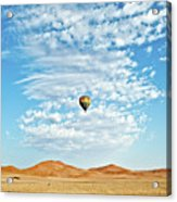 Desert Balloon Acrylic Print