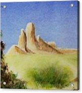 Desert Butte Acrylic Print