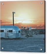 Desert Caravan Acrylic Print