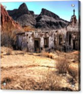 Desert Church Acrylic Print