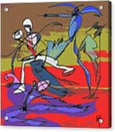 Desert Dance  Acrylic Print