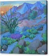 Desert Dawn Acrylic Print
