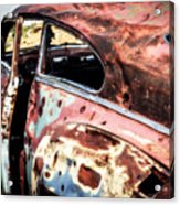 Desert Drive Acrylic Print