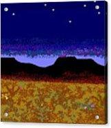 Desert Eve Acrylic Print