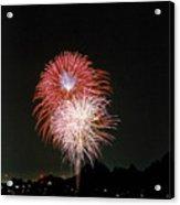 Desert Fireworks Acrylic Print