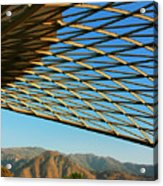 Desert Grid Acrylic Print