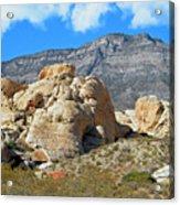 Desert Hikers Acrylic Print