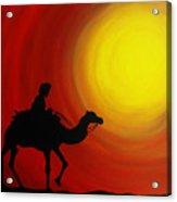 Desert King Acrylic Print by Ramneek Narang
