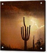 Desert Landscape Southwest Acrylic Print