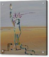 Desert Liberty Acrylic Print