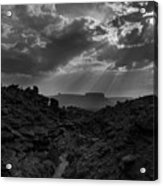 Desert Light Acrylic Print