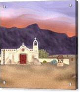 Desert Mission Acrylic Print