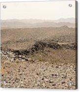 Desert. Morning. Acrylic Print